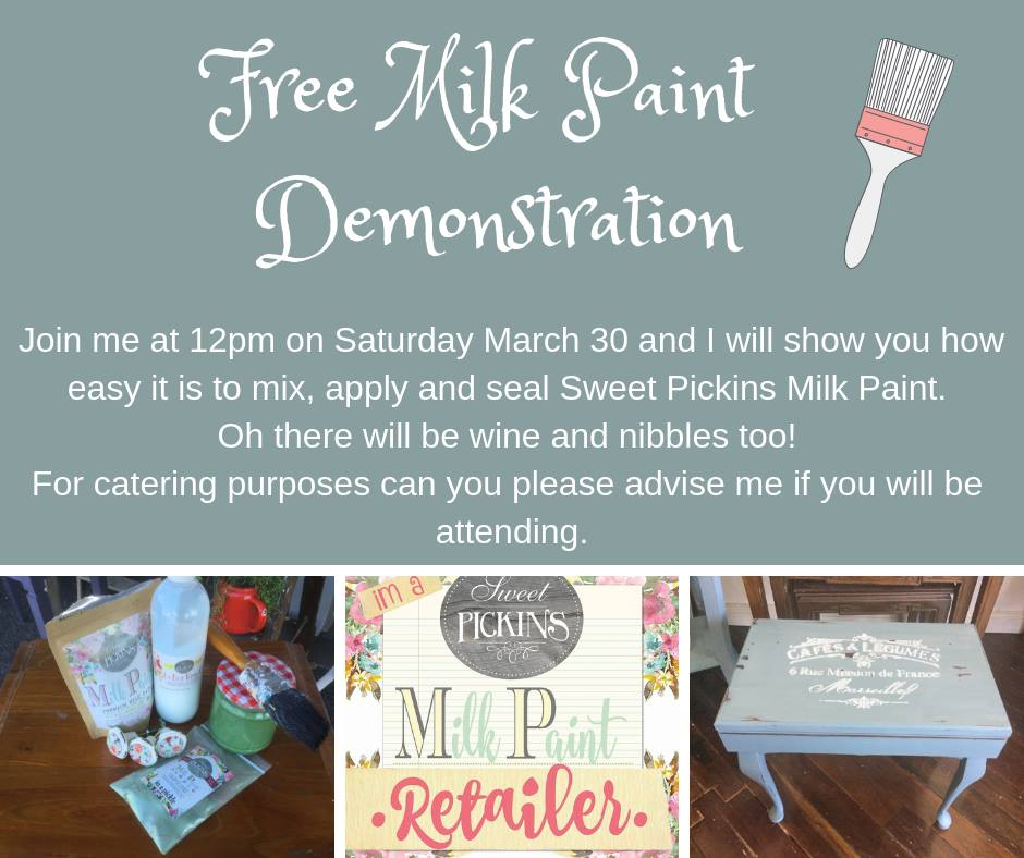 Free Milk Painting Demonstration
