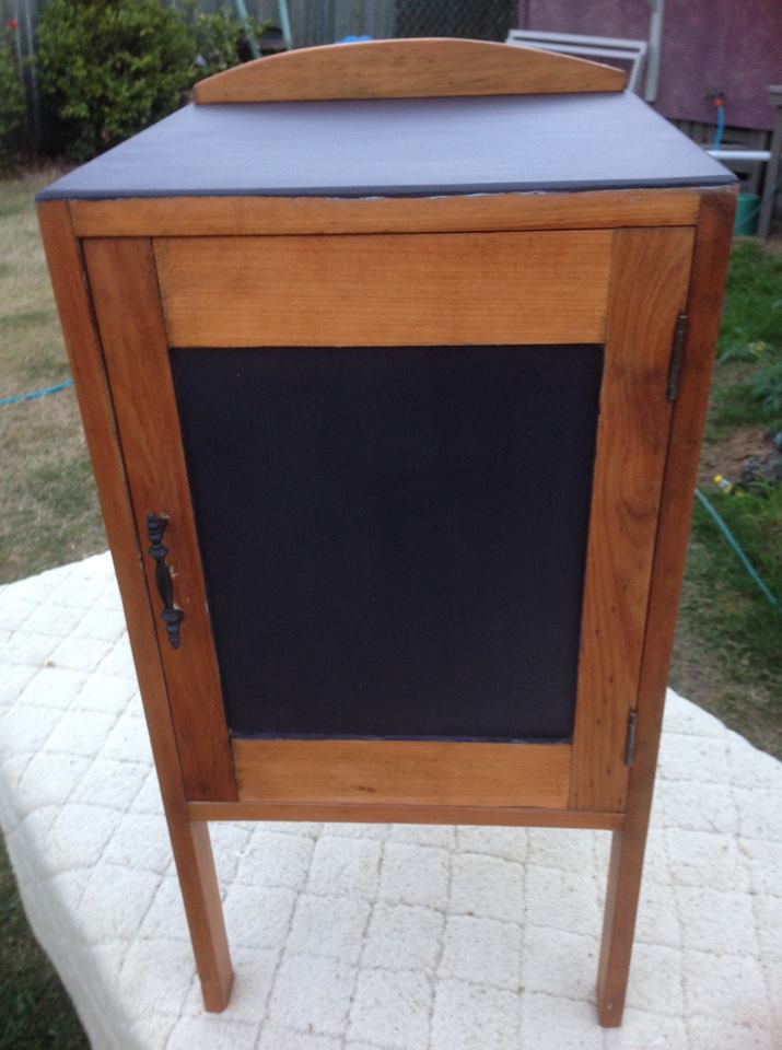 Revived Vintage Pot Cupboard