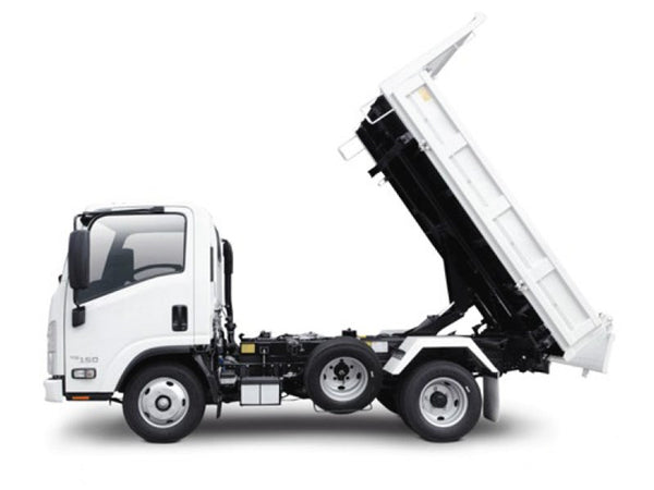 Isuzu NLS 45-150 Tipper 55 Degree Tilt | Truck Tarps Warehouse
