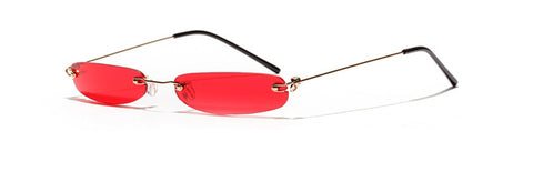 90s Sunglasses Red