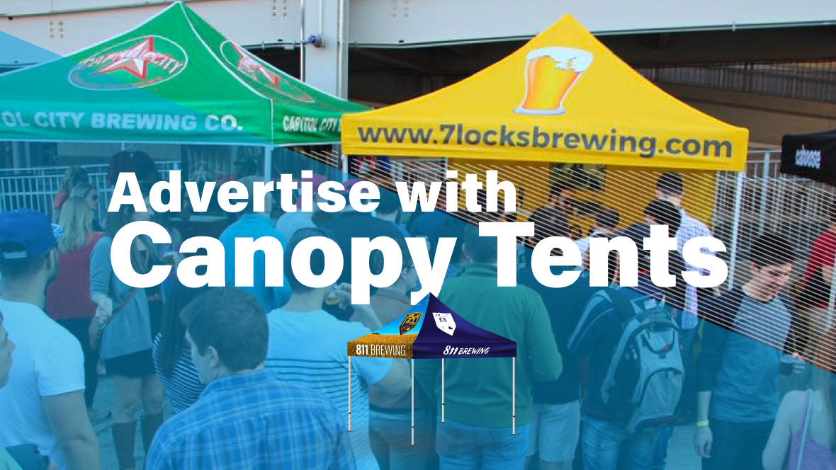 Branded Canopy Tent - Event Tent - Custom Tents | AdVision Signs - Pittsburgh, PA