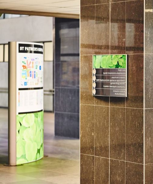 Wayfinding Signs - Vista Signs - Directory Signs - Directional Signs - Informational Signs - Commercial Signs   AdVision Signs - Pittsburgh, PA