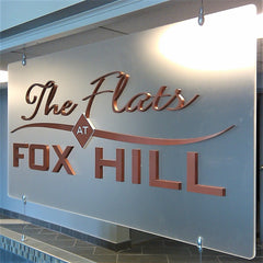Indoor Dimensional Lettering Signs | AdVision Signs