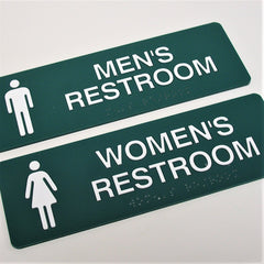 ADA Braille Restroom Signs | AdVision Signs