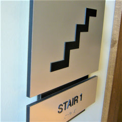 ADA Braille Stairs Signs | AdVision Signs