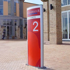advision signs pylon stand