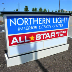 Monument Signs | Custom Outdoor Signs - AdVision Signs
