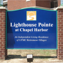 Monument Signs   Custom Outdoor Signs - AdVision Signs