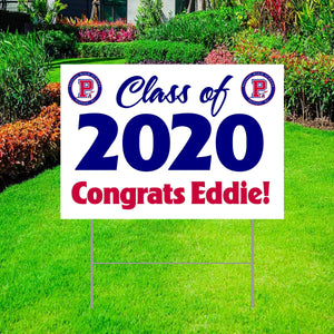"Class of 2020 Yard Sign 18""x24"""