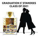 2021 Graduate 5' Standees | AdVision Signs - Pittsburgh, PA