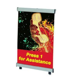 Mini Banner Displays | AdVision Signs