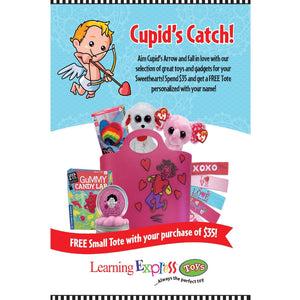 Cupid's Catch Valentine's Day Signs for Learning Express - AdVision Signs