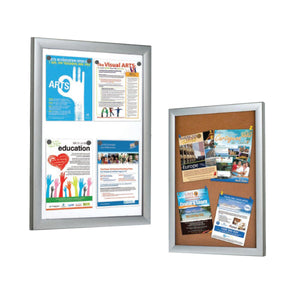 Cork/Magnetic Bulletin Board Frame | Vista Systems