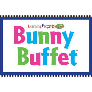 """Bunny Buffet"" Sign for Learning Express"
