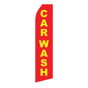 Assorted Car Wash & Detailing Feather Flags | AdVision Signs - Pittsburgh, PA