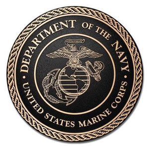 Cast Bronze Military Seal