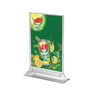 25pk of Upright Clear Brochure Holder Frame | Vista Systems