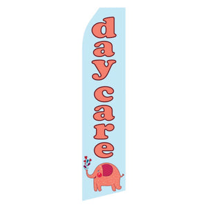 Assorted Daycare & Childcare Feather Flags