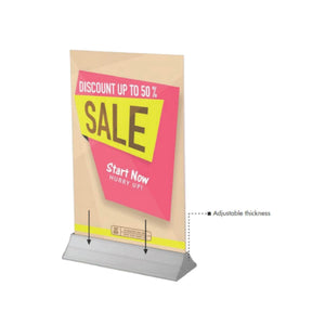 Rigid Poster Stand Frame | Vista Systems