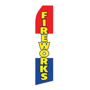 Fourth of July & Fireworks Feather Flags | AdVision Signs - Pittsburgh, PA