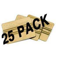 Golden Squeegee 25 Pack - AdVision Signs