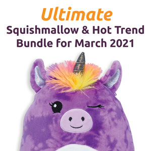 Ultimate Squishmallow Hot Trend Bundle for March 2021 for Learning Express