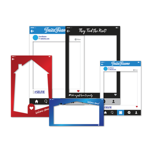 Selfie Frames For Weddings, Events, & More - AdVision Signs