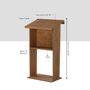 Wood Podium | Vista Systems