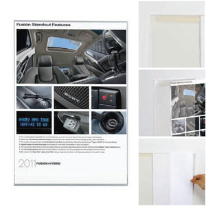 Wall Mounted Poster Pocket | Vista Systems