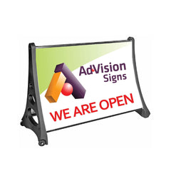 Portable Roadside A-Frame | AdVision Signs - Pittsburgh, PA