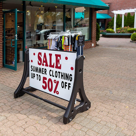 Portable Message Board Roadside Sign | AdVision Signs - Pittsburgh, PA