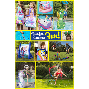 """Time For Summer Fun"" Signs for Learning Express - AdVision Signs"