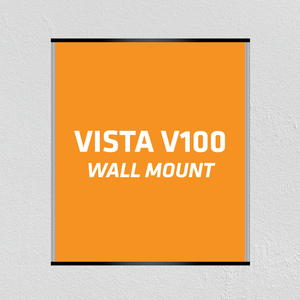"Wall Mount V100 (4""W) Vista Family Sign Systems - AdVision Signs"