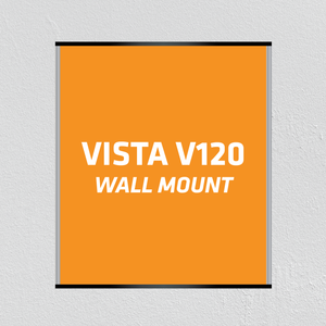 "Wall Mount V120 (4-3/4""W) Vista Family Sign Systems - AdVision Signs"
