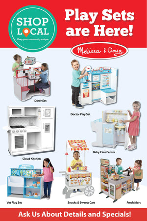 """Playsets Are Here!"" Signs for Learning Express - AdVision Signs"