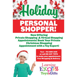 Personal Shopper Holiday Signs for Learning Express