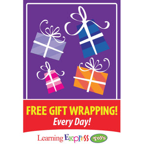 Free Holiday Gift Wrapping Signs for Learning Express - AdVision Signs