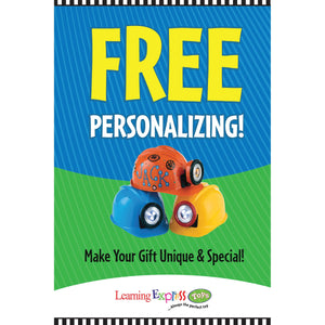 """Free Personalizing!"" Holiday Signs for Learning Express"