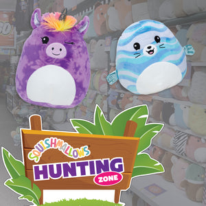 Squishmallow Hunting Window Decals for Learning Express (Pack Options)