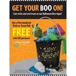 """Get you BOO On"" Signs for Learning Express"