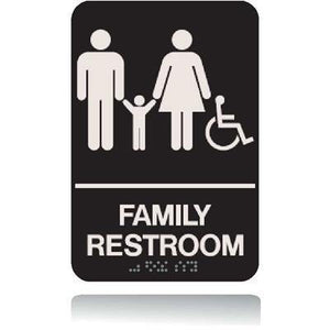 ADA Family Restroom Sign