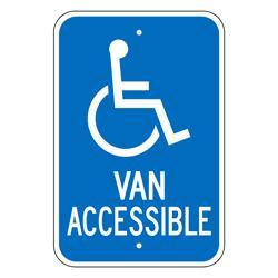 VAN ACCESSIBLE SIGN