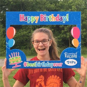 Birthday Portrait Frame for Learning Express - AdVision Signs