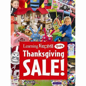 """Thanksgiving Sale!"" Sign for Learning Express"