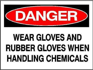 OSHA Danger Signs | Wear Gloves Sign - AdVision Signs