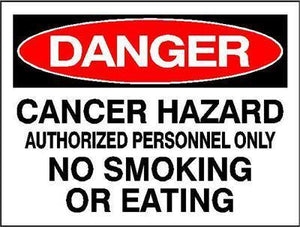 OSHA Danger Signs | Cancer Hazard Sign - AdVision Signs