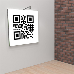 QR Code Vector Wall Frame-Square - AdVision Signs