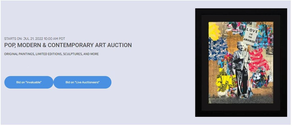Winter Modern & Contemporary Fine Art Auction | Peter Max, Wyland, Tom Everhart