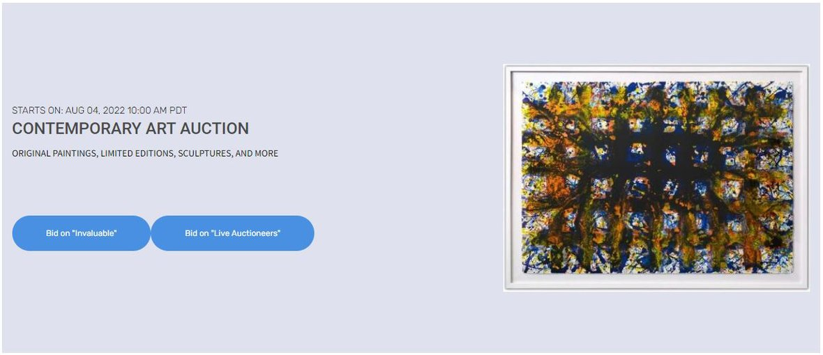 February Modern and Contemporary Art Auction | TOM EVERHART, PETER MAX, YOSL BERGNER, MENASHE KADISHMAN, AND MORE