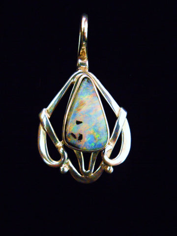 Fire Opal Pendant-SOLD